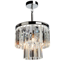 Artcraft AC10403CH - El Dorado 3 Light Chrome Chandelier