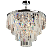 Artcraft AC10410CH - El Dorado 9 Light Chrome Chandelier
