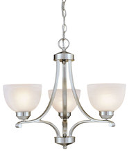 Minka-Lavery 1423-84 - 3 Light Mini Chandelier