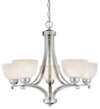 Minka-Lavery 1425-84 - 5 Light Chandelier