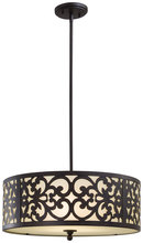 Minka-Lavery 1494-357 - 3 Light Pendant