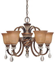 Minka-Lavery 174-206 - 5 Light Chandelier