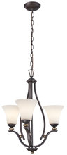 Minka-Lavery 3283-589 - 3 Light Chandelier