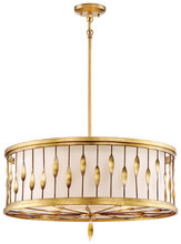 Minka-Lavery 4055-571 - 5 Light Convertible Pendant