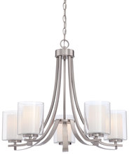 Minka-Lavery 4105-84 - 5 Light Chandelier