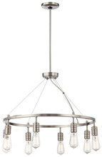 Minka-Lavery 4138-84 - 8 Light Chandelier