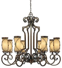 Minka-Lavery 4238-288 - 8 Light Chandelier