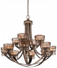Minka-Lavery 4999-271 - 12 Light Chandelier