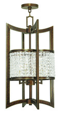 Livex Lighting 50567-64 - 4 Light Palacial Bronze Lantern