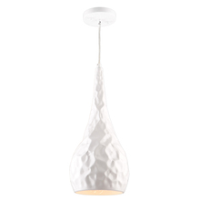 Artcraft AC10741WH - Forged Metal AC10741WH Pendant