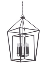 Craftmade 45836-OB - Hudson 6 Light Foyer in Oiled Bronze