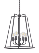 Craftmade 45935-OBG - Arc 5 Light Foyer in Oil Bronze Gilded