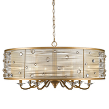 Golden 1993-8 PG - 8 Light Chandelier