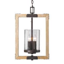 Golden 7804-3P RB-CWG - 3 Light Pendant