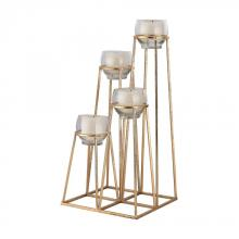 Sterling Industries 3200-025 - Skyline Cupped Tea Light Holder