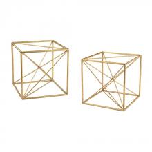 Sterling Industries 51-017/S2 - Angular Study Decor - Set of 2