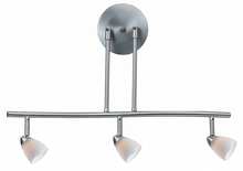 "CAL Lighting SL-954-3-BS/WSW - 7.25-19.25"" Inch Adjustable Metal Serpentine Three Light Ceiling Fixture"