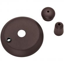 Casablanca Fan Company 99133 - Cap & Finial Pack - Industrial Rust
