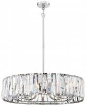 Minka Metropolitan n7510-77 - 10 Light Chandelier