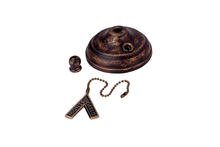 Monte Carlo MC83TB - Pull Chain Type Bowl Cap Kit - Tuscan Bronze