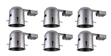 "Elegant ICAT6R-T24LED-6PK - 6"" ICAT REMODEL  HOUSING, 120V, T24 CONNECTOR, LED RETROFIT ONLY 6 PACK"