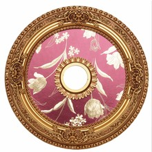 Elegant MD101D24FG - 24 in. Ceiling Medallion in French Gold