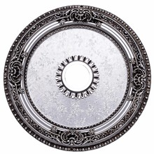Elegant MD102D24PW - 24 in. Ceiling Medallion in Pewter
