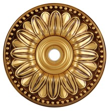 Elegant MD214D16FG - 16 in. Ceiling Medallion in French Gold