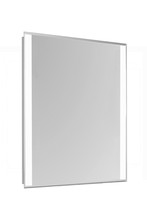 "Elegant MRE-6201 - 2 Sides LED Edge Electric Mirror Rectangle W20""H30"" Dimmable 5000K"