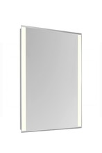 "Elegant MRE-6212 - 2 Sides LED Edge Electric Mirror Rectangle W20""H40"" Dimmable 3000K"