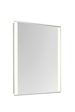 "Elegant MRE-6213 - 2 Sides LED Edge Electric Mirror Rectangle W24""H30"" Dimmable 3000K"