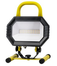 Elegant PWL5001Y - LED PORTABLE WORK LIGHT, 4000K, 102�, CRI80, UL, 15W, 100W EQUIVALENT, 35000HRS, LM1000, NON-DIMMABL
