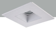 "Elegant R4-DS90MW - 4"" Matte White Square baffle Trim MR16"