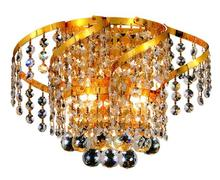 Elegant VECA1W12G/RC - Belenus Collection Wall Sconce D:12in H:8in E:9in Lt:2 Gold Finish (Royal Cut Crystals)