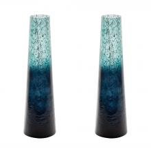 Dimond 876034/S2 - Ombre Snorkel Vases In Emerald - Set of 2