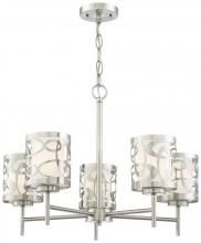 Minka George Kovacs P5715-084 - 5 LIGHT CHANDELIER
