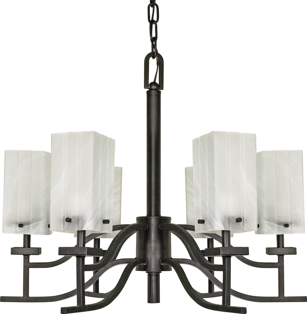 Cubica 6 Light Chandelier