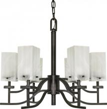 Nuvo 60/000 - Cubica 6 Light Chandelier