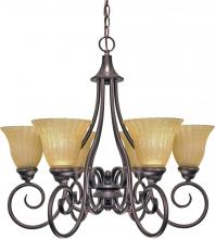 Nuvo 60-010 - Moulan 6 Light Chandelier