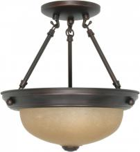 "Nuvo 60/1258 - 2 Light - 11"" Semi Flush"