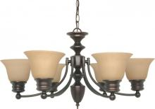 Nuvo 60/1274 - Empire 6 Light Chandelier