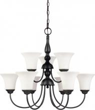 Nuvo 60-1843 - Dupont 9 Light Chandelier