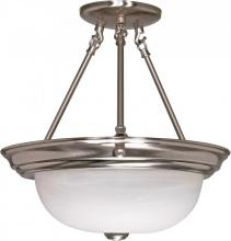 "Nuvo 60/202 - 3 Light - 15"" Semi Flush"