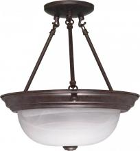 "Nuvo 60/209 - 2 Light - 13"" Semi Flush"