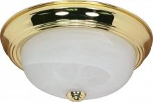 "Nuvo 60/214 - 2 Light - 13"" Flush Fixture"