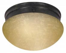 "Nuvo 60/2644 - 2 Light 10"" Mushroom Flush"
