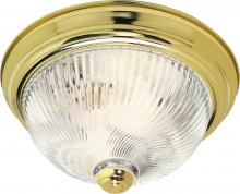 "Nuvo SF76/025 - 2 Light 13"" Flush Mount"