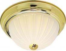 "Nuvo SF76/124 - 2 Light 11"" Flush Mount"