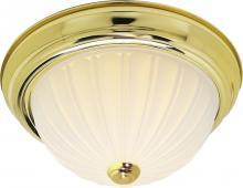 "Nuvo SF76/126 - 2 Light 13"" Flush Mount"