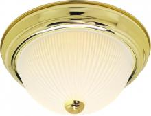 "Nuvo SF76/132 - 2 Light 13"" Flush Mount"